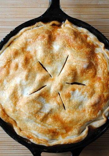 Easy Skillet Apple Pie!
