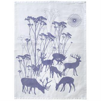 Deer kökshandduk - 70x50 cm - Design by Susanne Schjerning