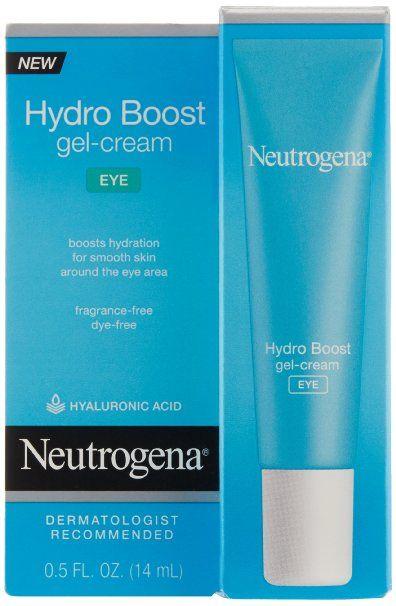Amazon.com: Neutrogena Hydro Boost Eye Gel Cream, 0.5 Ounce: Beauty