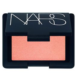Nars Blush in Orgasm - golden peachy tones with a subtle sheen