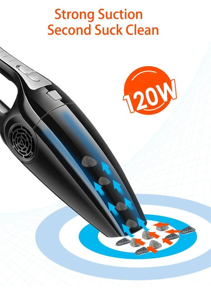 Handheld 12v High Power Car Vacuum Cleaner In 2020 Car Vacuum Cleaner Car Vacuum Handheld Vacuum Cleaner