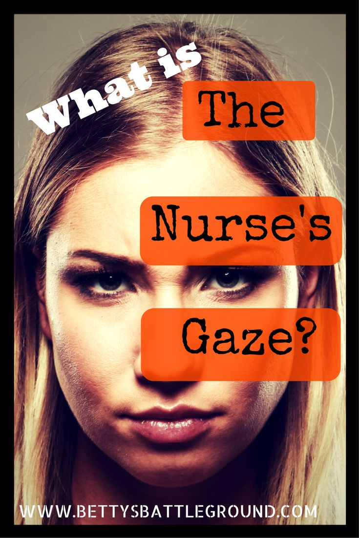 What is the Nurse's Gaze? Find out, and the five other things I learned when I was on involuntary hold in a psych ward, on www.bettysbattleground.com