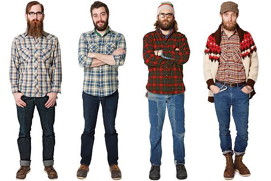 """The metrosexual is so last decade. Now, it's all about the """"Lumbersexual."""""""