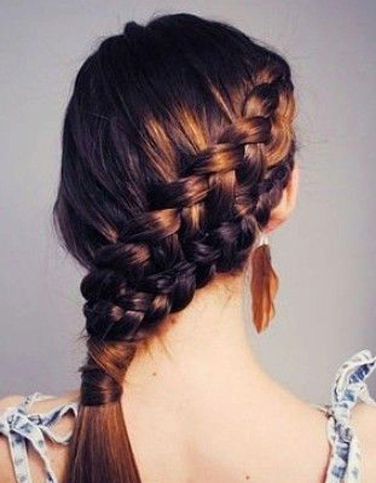 Les 50 coiffures rapides à faire pour les pressées du matin   Astuces de filles