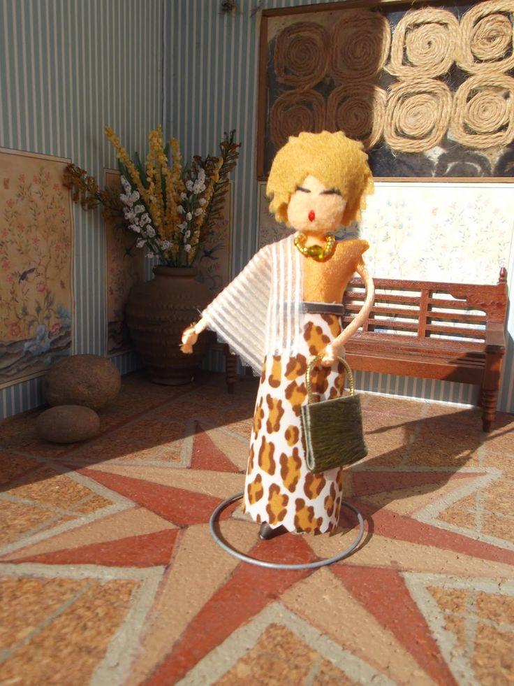 Las Bárbaras: Muñeca personalizada, Dainha