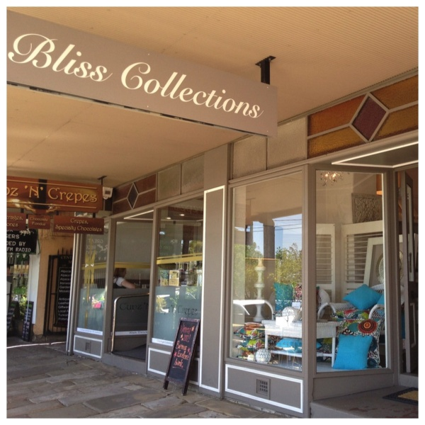 Bliss Collections in Morpeth, NSW.  www.blisscollections.com.au