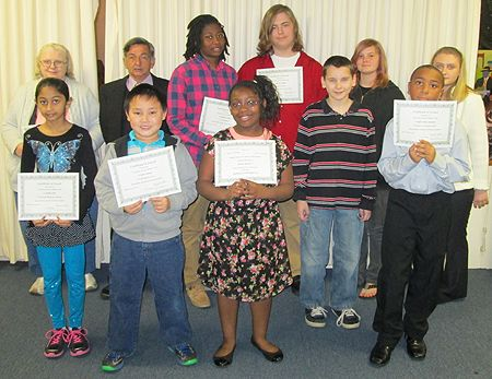 2013 winners of the annual contests in prose and poetry.