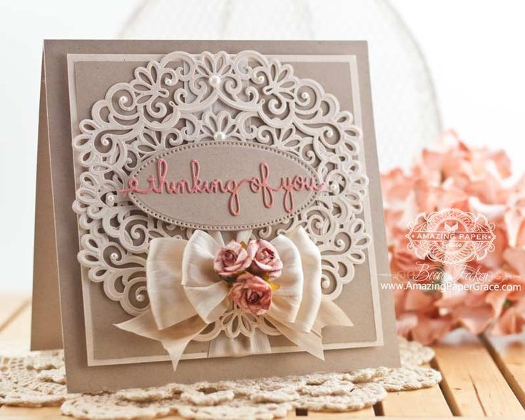 Card Making Ideas Using Dies Part - 16: A Card, A Blog Anniversary And A Giveaway