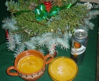 Vianočná pečeňová paštéta (fotorecept)