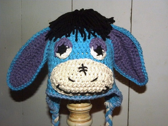 Free Crochet Pattern Donkey Hat : 1000+ images about Crochet Winnie the Pooh on Pinterest ...