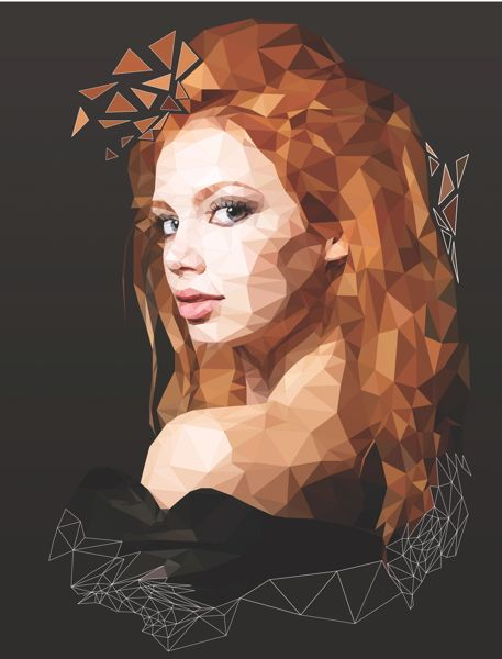 Create a low-poly illustration by combining Photoshop and Illustrator for pixel-perfect results