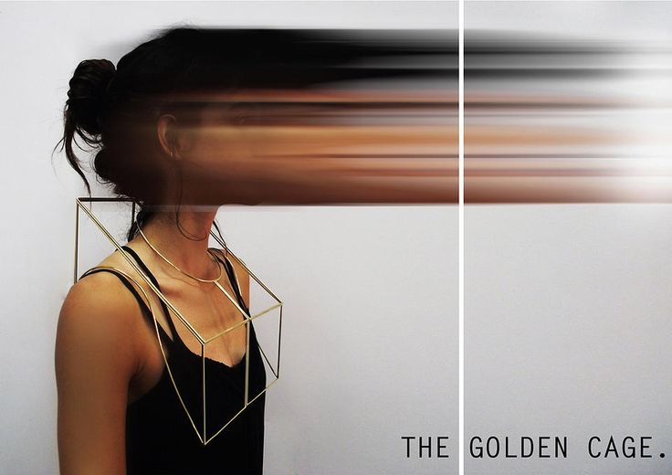Yael Levin - the golden cage necklace