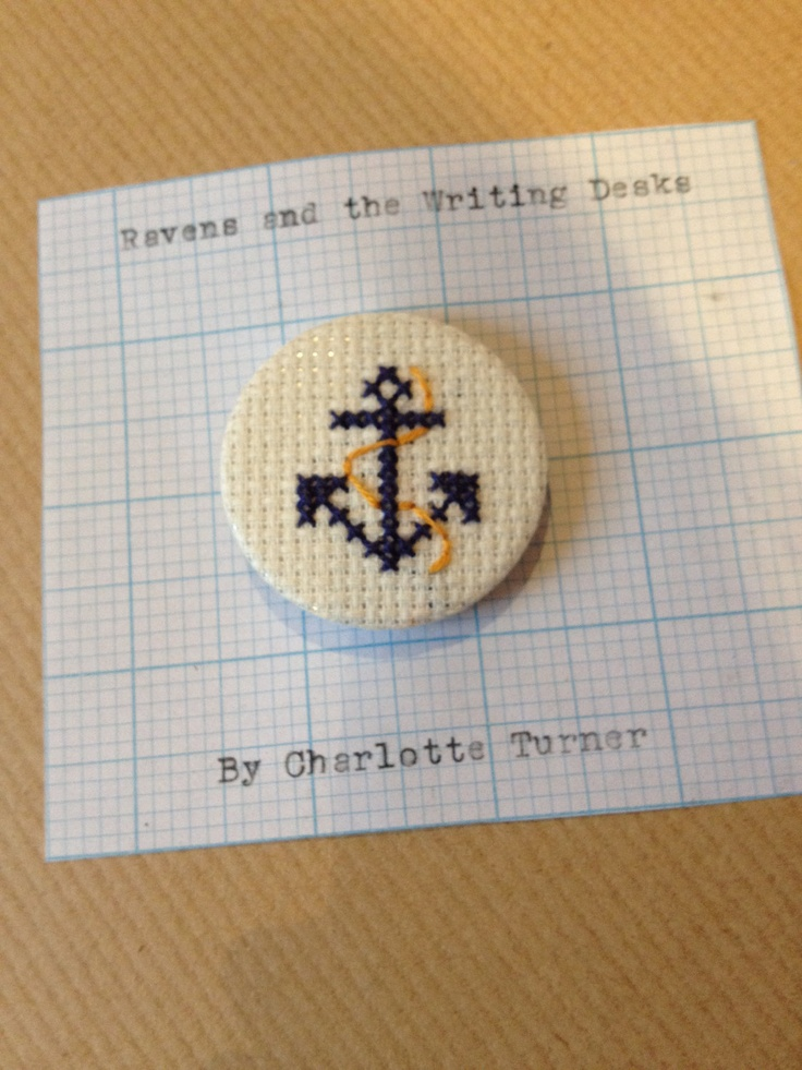 Nautical Anchor Cross-Stitch