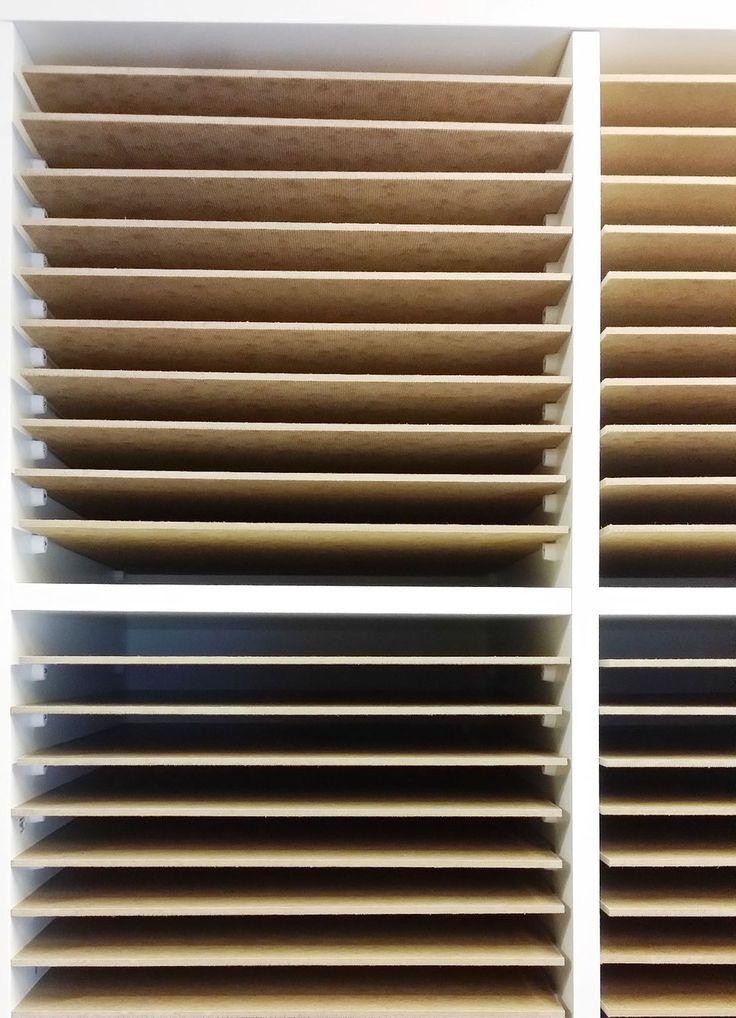 DIY Paper Storage - Papieraufbewahrung