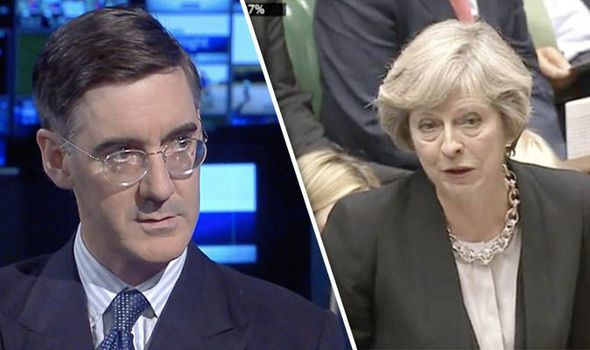 THE Prime Minister has been hailed by Jacob Rees Mogg for refusing to give a blow-by-blow account of Brexit negotiations as she leads Britain out of the EU.