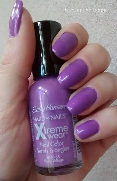 Violet Voltage . Sally Hansen Xtreme Wear