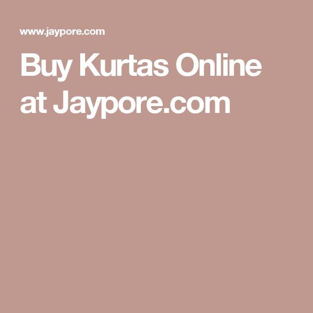 Buy Kurtas Online at Jaypore.com