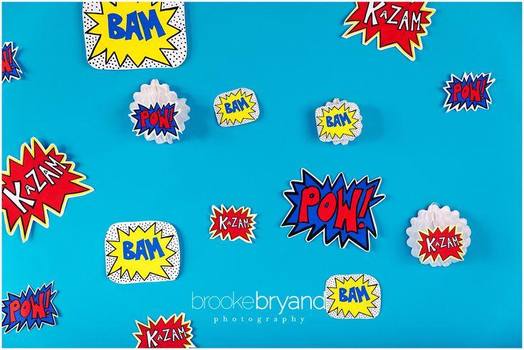 Superhero DIY Photo Shoot Video | Brooke Bryand Photography