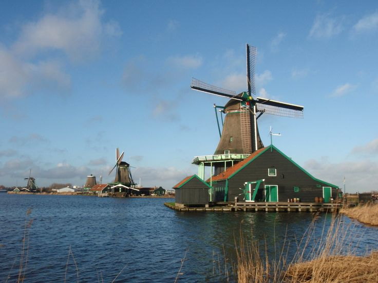HOLLAND - ZAANSE SCHANS village
