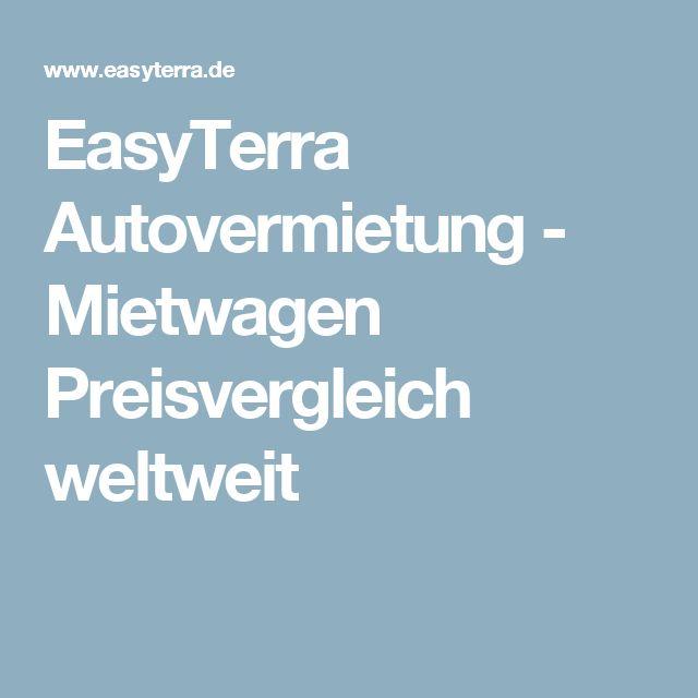 EasyTerra Autovermietung - Mietwagen Preisvergleich weltweit