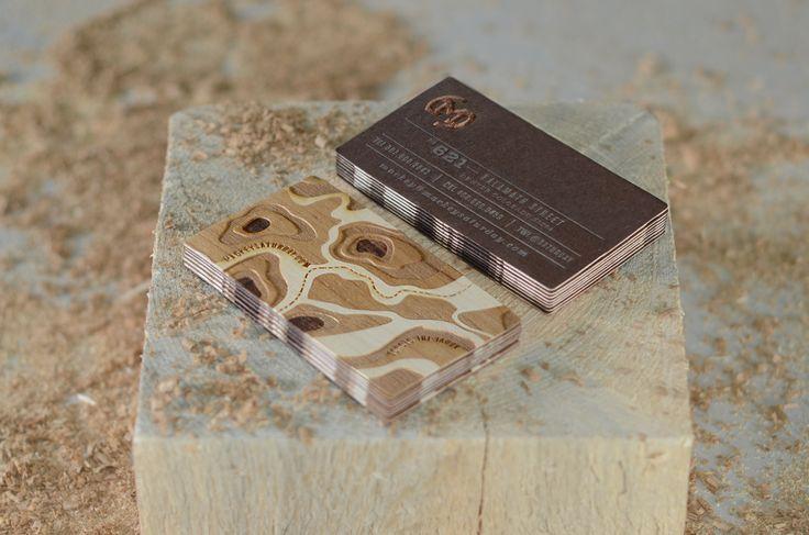 Unique Business Card, Mackey Saturday #BusinessCards #Design