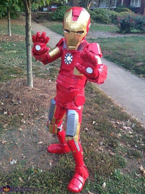 Iron Man Duct Tape Titanium Alloy - Halloween Costume Contest via @costumeworks