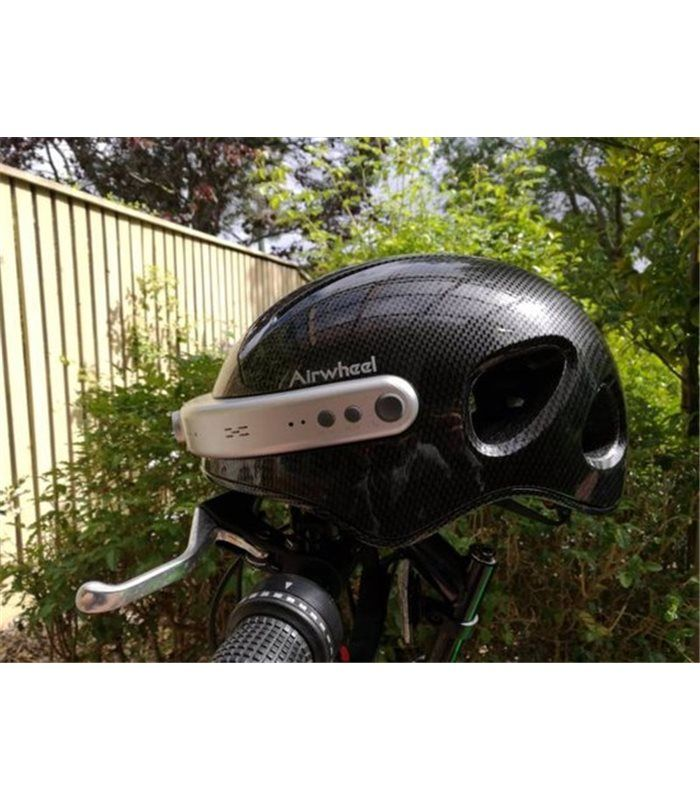 Airwheel C5 smart helmet as the best bike helmet, let you record the best times easily.