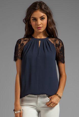 Elegante blusa
