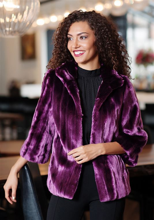 c9ce3b0030643 Ultra Violet Couture Evening Jacket