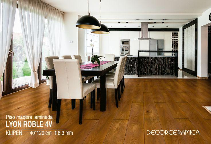 Usar el mismo piso puede ser aburrido. Delimita áreas específicas en tu casa con otro estilo bit.ly/1qTyhms
