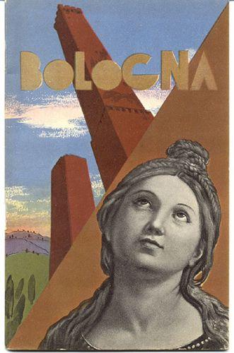 Vintage Italian Posters ~ Bologna, 1936 #TuscanyAgriturismoGiratola #vintage #Posters #Italian #Italy
