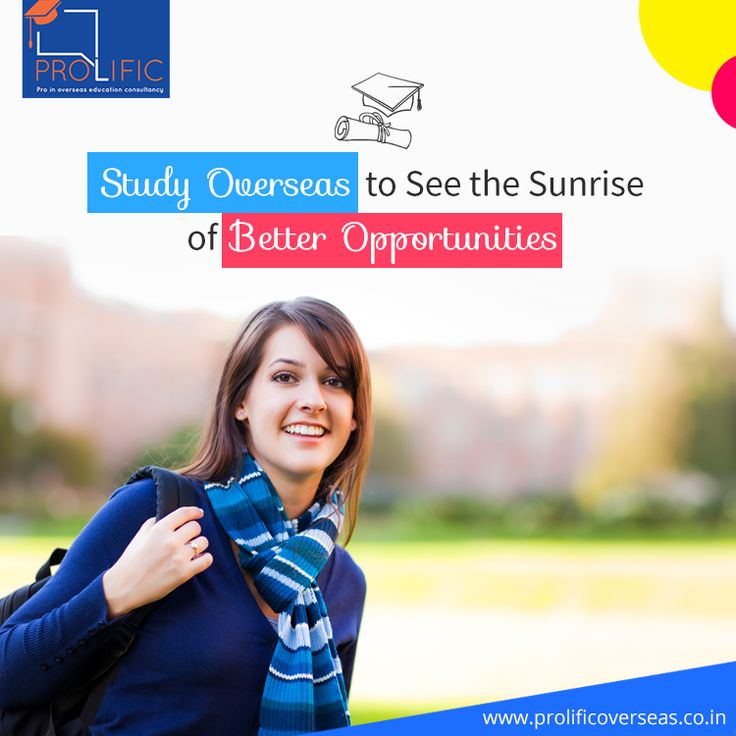You can approach Prolific Overseas to know more about overseas education. They are one of the leading Overseas education consultants in Delhi, which you can choose. They have a team of experts, who will guide you well regarding abroad education. Prolific Overseas has a tie up with the best universities in the world, so you can also choose them as a mediator can get the education in a foreign university.
