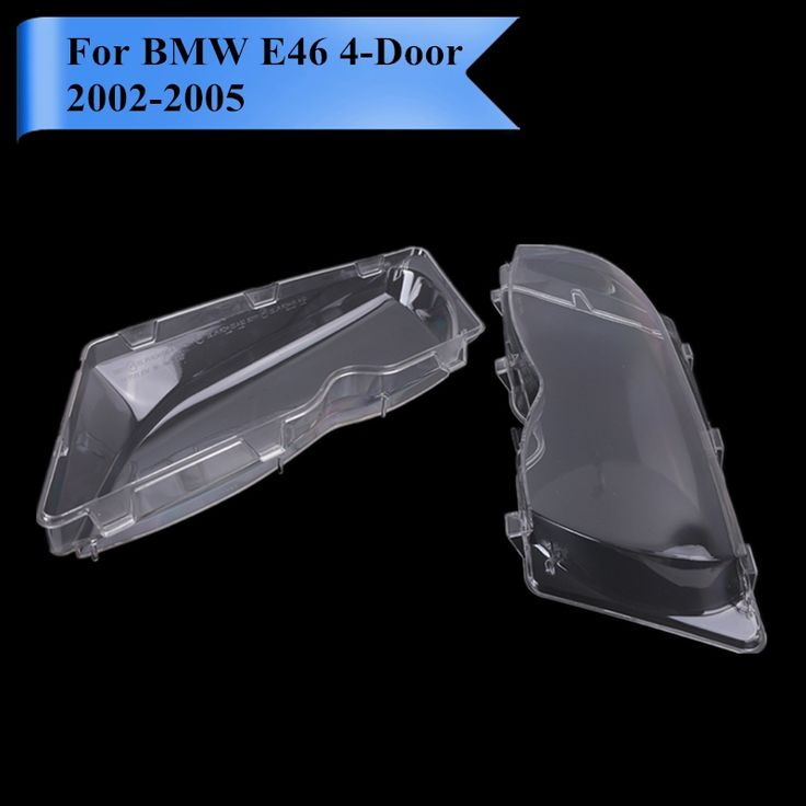57.97$  Buy here - http://alii7i.worldwells.pw/go.php?t=32739180255 - 2x Transparent Housing Headlight Lens Shell Cover Lamp Assembly For BMW E46 325i 325xi 330i 330xi 2002-2005 Car Styling #P439