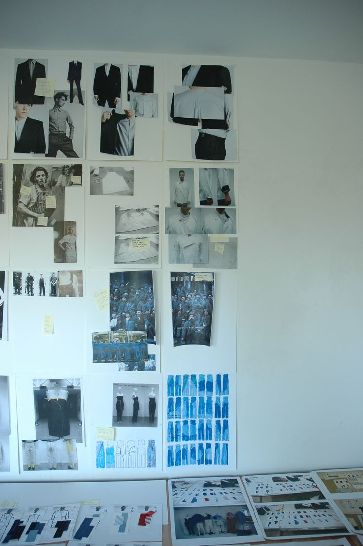 own work on wall