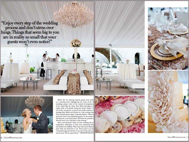 47 Best Real Wedding Glamorous Sophistication Images On Pinterest
