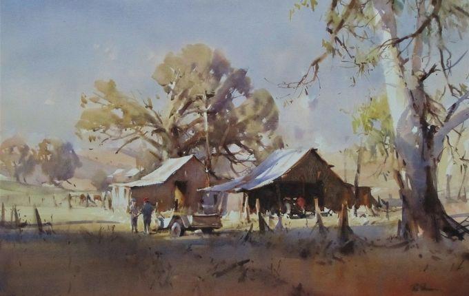 Ross Paterson Landscape Art Australian Painting Landscape
