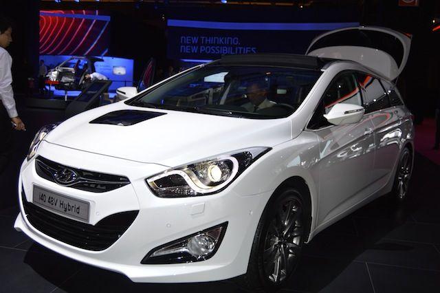 Hyundai i40 48V hybrid - front