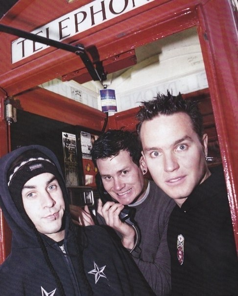Blink-182! Tom is such a goofball