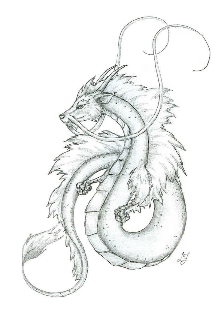 грушевидной японский дракон картинки легкие год они