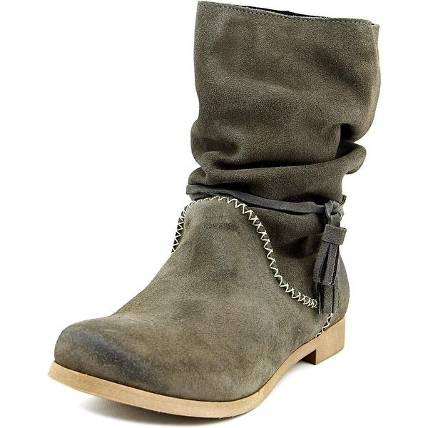 Coolway Noreen Women  Round Toe Suede  Mid Calf Boot | Overstock.com Shopping - The Best Deals on Boots
