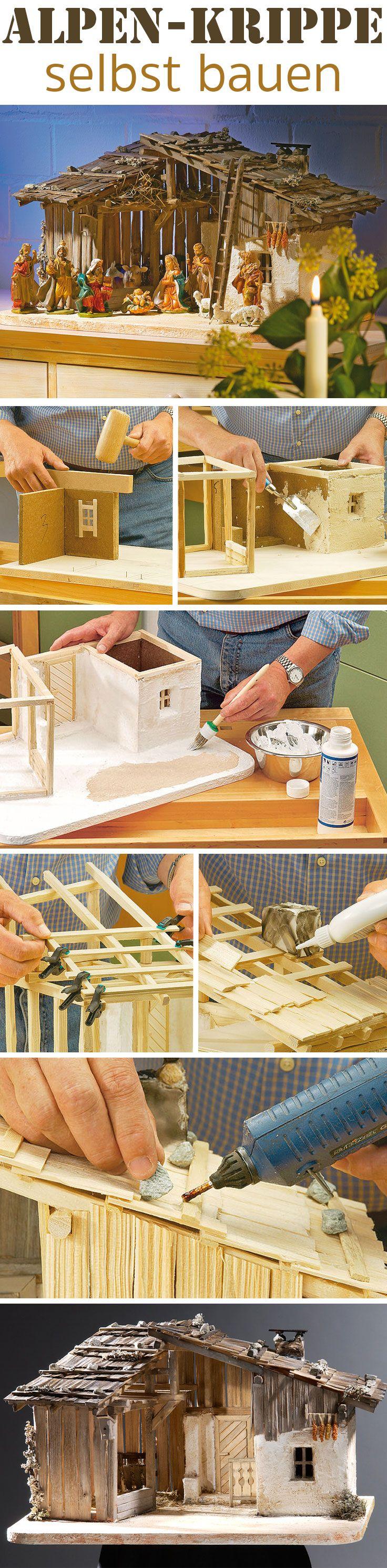 die 25 besten ideen zu krippe bauen auf pinterest selbst bauen krippe selbstgebaute krippe. Black Bedroom Furniture Sets. Home Design Ideas
