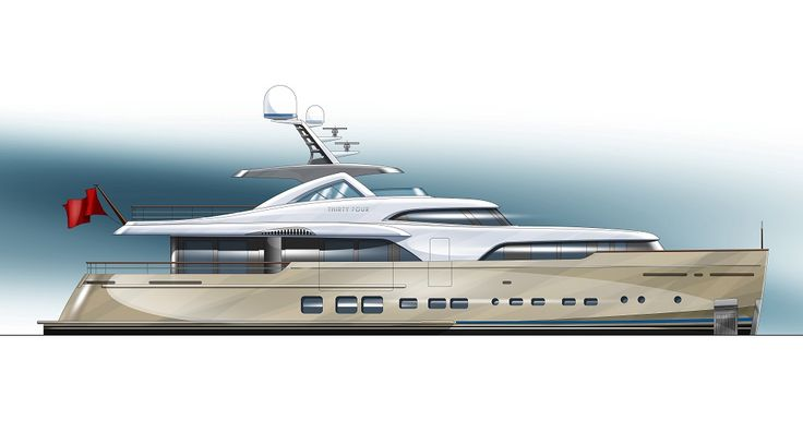 New 34 metre superyacht contract signed at Mulder Shipyard - New Orders - SuperyachtTimes.com