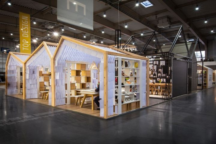 Human Touch Group pavilion by mode:lina at Arena Design, Poznań – Poland » Retail Design Blog