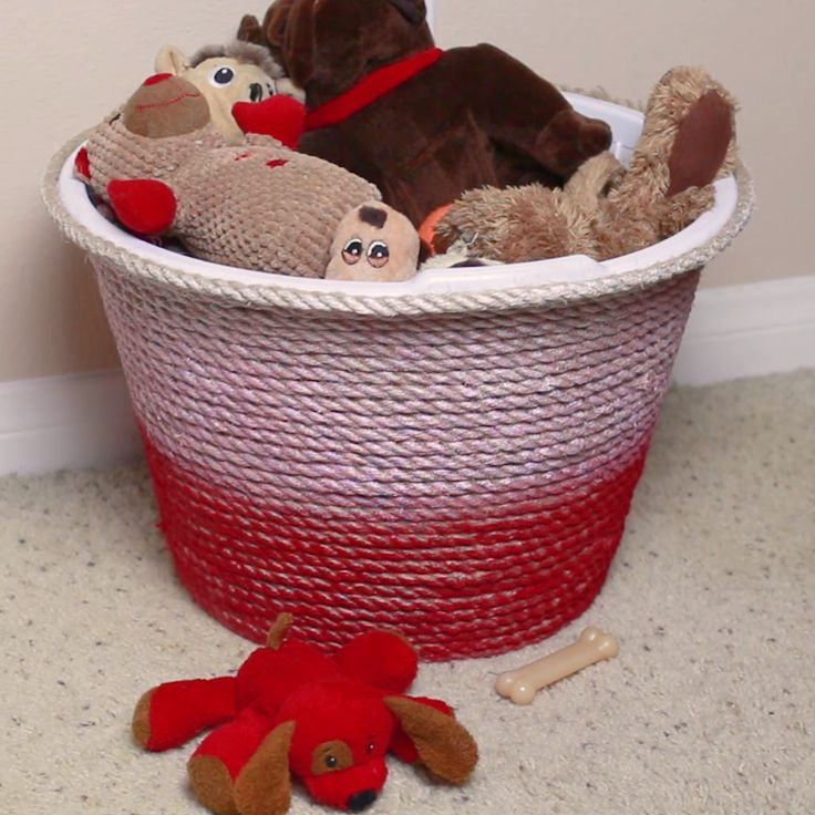 Easy Upgraded Rope Basket