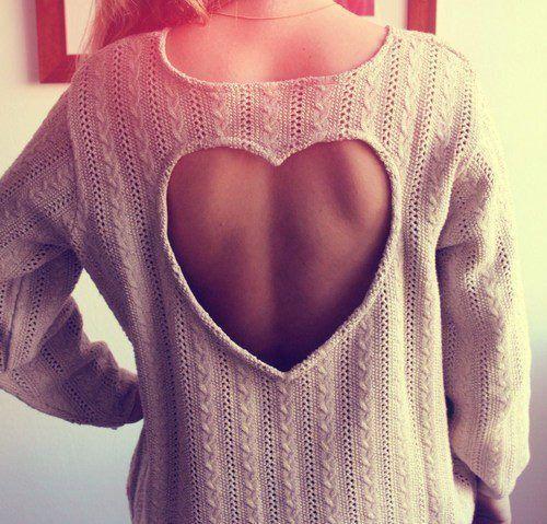 Heart Sweater | Tumblr
