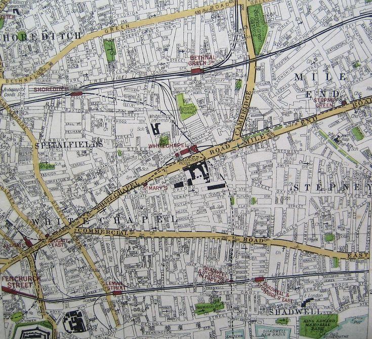 London Central Map%0A Whitechapel map