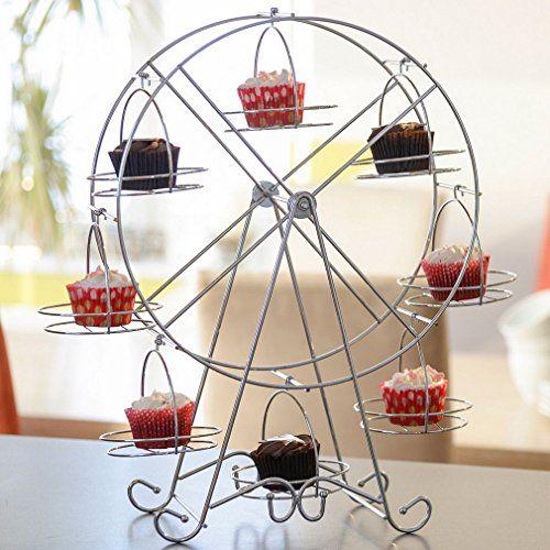 Creative Stainless Steel Ferris Wheel Cupcake Display Sta... https://www.amazon.co.uk/dp/B01ALX0816/ref=cm_sw_r_pi_dp_x_O1sZzb4X0VFY3