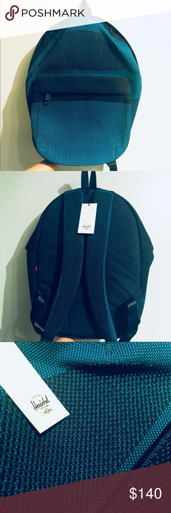 "Herschel Apex Lawson Backpack - Blue Trendy Hershel backpack with mesh knit material, padded back support, and neoprene laptop sleeve. Brand New with tags. Original MSRP $180  Color: Medieval Blue  Dimensions: 17.25""(H) x 11.75"" (W) x 5.5"" (D)   See link for additional details: https://herschel.com/shop/backpacks/apex-lawson?v=10276-01500-OS Herschel Supply Company Bags Backpacks"