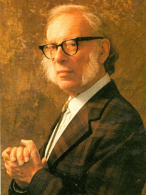 Isaac Asimov. He was the keynote speaker at an RT convention back in the 70's. He stood there with his hands in his pockets and spoke for an hour. He was facinating.