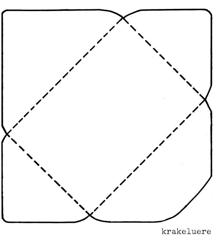 Schablone Grosser Briefumschlag Bmp Briefumschlag Basteln Umschlag Basteln Briefumschlag Falten